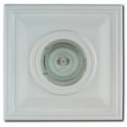 Гипсовый светильники встраеваемый под MR 16  AZ-01