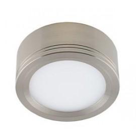Светодиодная накладная панель DLS 12 12W (Сатин-никель)