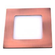 Светодиодная панель DL 08 LED 8W (Медь) STANDART
