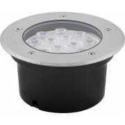 SP4114 светильник LED тротуарный (грунтовый)  12W зелёный, 230V IP67
