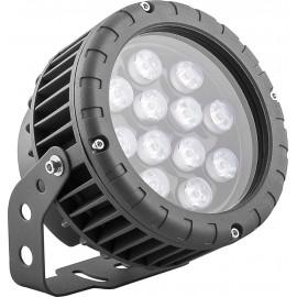 LL-883 Светодиодный прожектор, ландшафтно-архитектурный, D150xH200, IP65 12W 85-265V, теплый белый