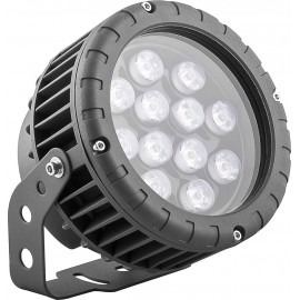 LL-883 Светодиодный прожектор, D150xH200, IP65 12W 85-265V, RGB