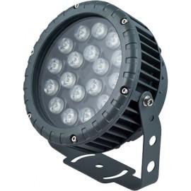 LL-885 cветодиодный прожектор ландшафтно-архитектурный Feron 85-265V 36W RGB IP65