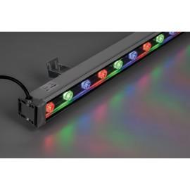 LL-889 cветодиодный линейный прожектор, 1000*46*46mm, 18W RGB 85-265V IP65
