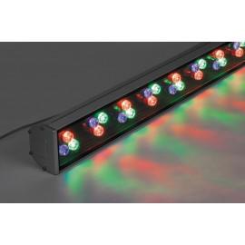 LL-890 cветодиодный линейный прожектор,1000*85*65,  36W RGB 85-265V IP65