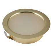 Мебельный светильник СК-50-4W 12V цвет:золото