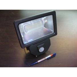 Прожектор светодиодный Navigator - 30w, угол рассеивания 70 градусов, с датчиком движения