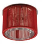 AG 51 - Цвет основания/цвет стекла: CHR/RD+WH (хром/красный+прозрачный)