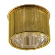 AG 51 - Цвет основания/цвет стекла: G/G+WH (золото/золото+прозрачный)