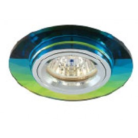 Светильник Светкомплект AG 728 - Цвет основания/цвет стекла: ALUM/COLOR (натуральный алюминий/хамелеон)