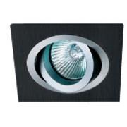 AT 10 - Цвет основания/цвет стекла: ALUM/BK (натуральный алюминий/черный)