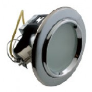 DS 82-4 G9 - Цвет основания/цвет стекла: PC/N (жемчужный хром/никель)