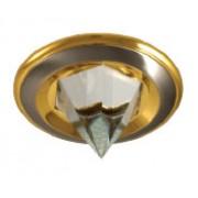 MS 134 - Цвет основания/цвет стекла: SN/G (сатин-никель/золото)