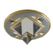 MS 16 A - Цвет основания/цвет стекла: PC/G (жемчужный хром/золото)