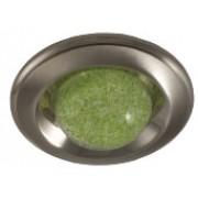 MS 84 F - Цвет:SN/N (сатин-никель/никель), цвет стекла:светонакопительный зелёный