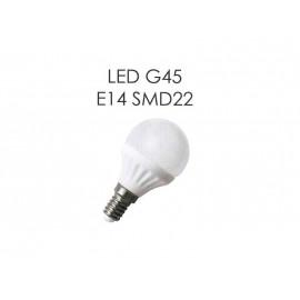 Светодиодная лампа LED G45 E14 7W