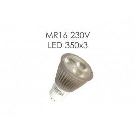 Светодиодная лампа MR16 230V LED 350x3