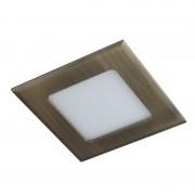 Светодиодная панель DL 08 LED 8W (Бронза) STANDART