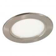 Светодиодная панель DL 10 C (Сатин - никель) PREMIUM